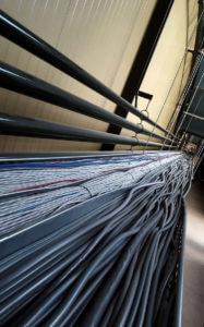 Kabels trekken bij Fonteyn